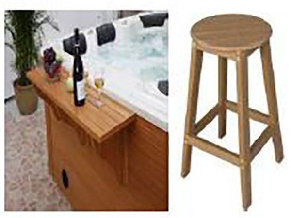 Bar-Table-and-Barstool-Jacuzzi-Optional-Extra