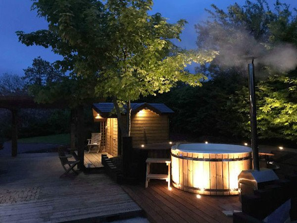 wood burning hot tubs ireland