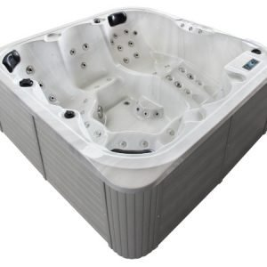 Jacuzzi-TubHub-5813B-Silver-White-Marble-1